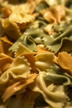Bowtie Tricolor Pasta Menu